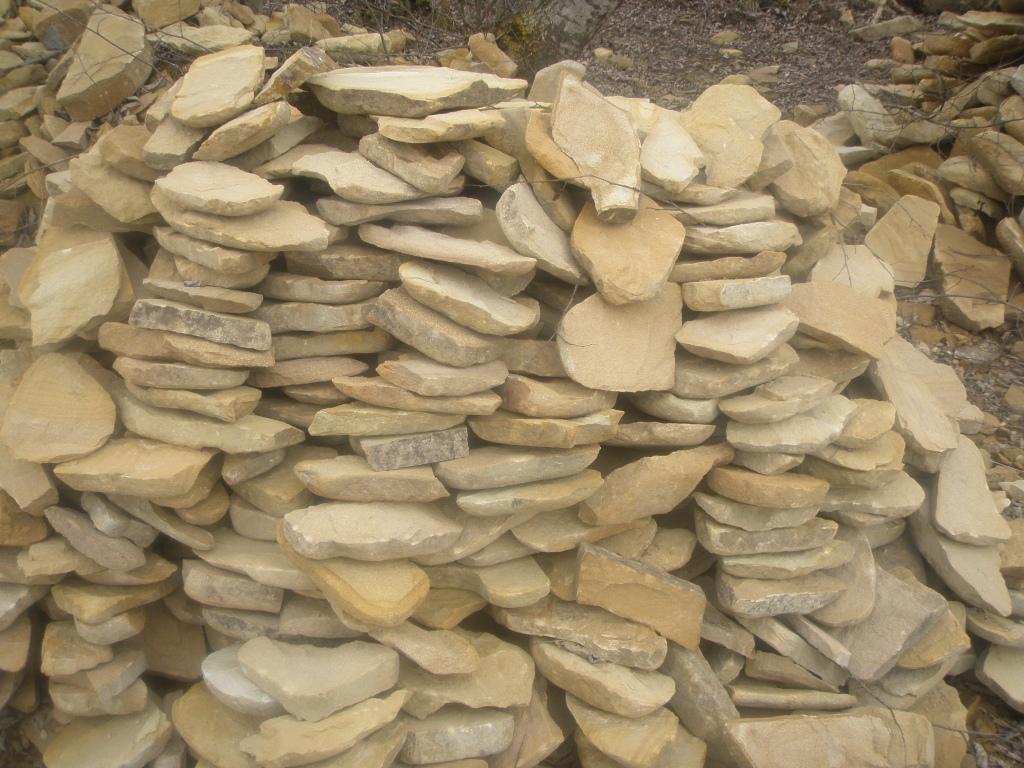 Колотый песчаник