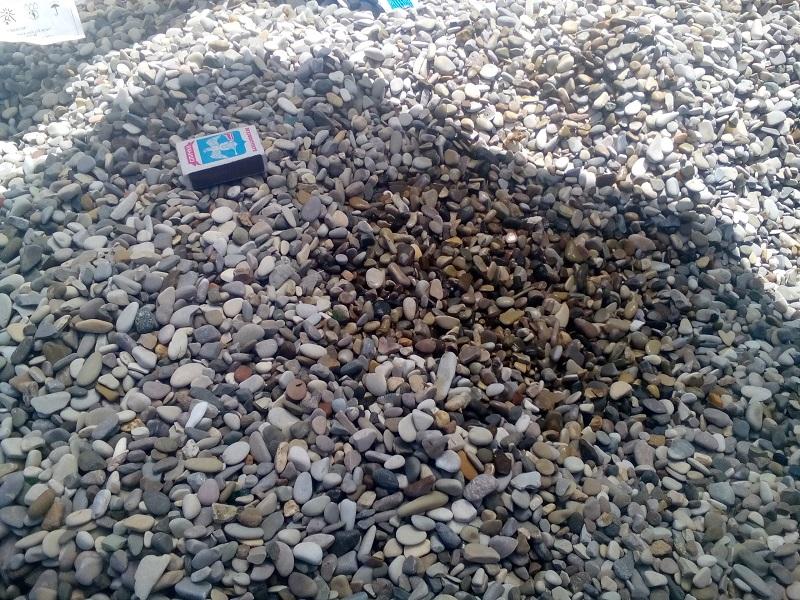 Купить морскую гальку черноморскую 10 - 20 мм