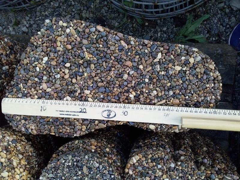 Изделие из камня - каменные ножки