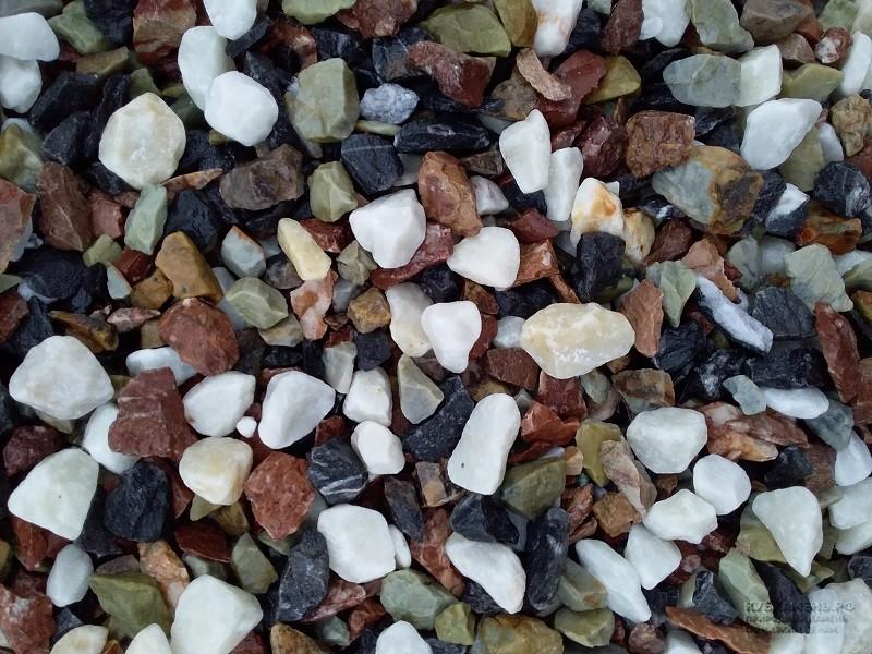 Смешанная каменная крошка MIX